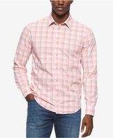 Calvin Klein Jeans Men's Spring Check Long-Sleeve Shirt