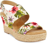 White Mountain Bar Harbor Espadrille Wedge Sandals