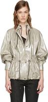 Isabel Marant Silver Lux Jacket