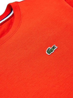 Lacoste Boys Classic Short Sleeve T-Shirt - Red