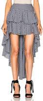 Caroline Constas Giulia Ruffle Skirt