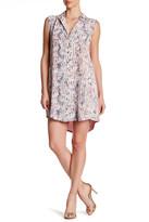 Greylin Provence Printed Silk Shirt Dress