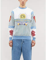 Billionaire Boys Club Graphic-print cotton-jersey sweatshirt