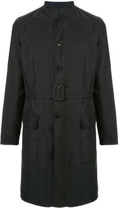 Shanghai Tang Reversible Belted Trench Coat