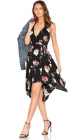 Band of Gypsies Floral Hanky Wrap Dress
