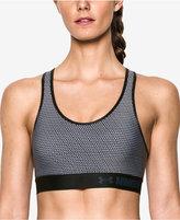 Under Armour HeatGear® Mid-Impact Printed Sports Bra