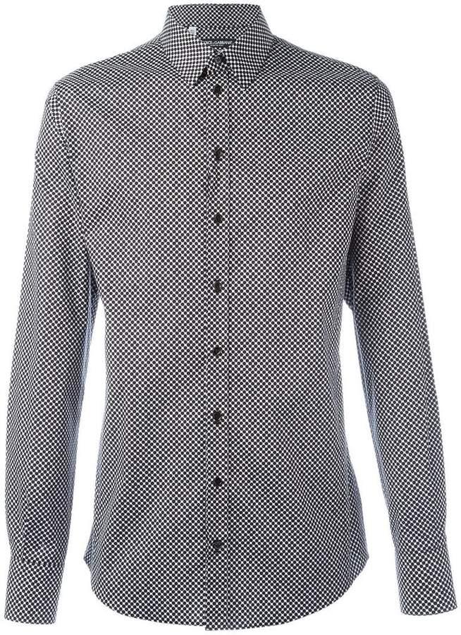 Dolce & Gabbana dot print shirt