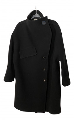 Acne Studios Black Wool Coats
