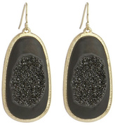 Marcia Moran Brushed Druzy Earrings