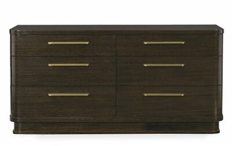 Caracole Modern Modern Streamline 6 Drawer Double Dresser