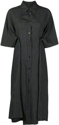 MM6 MAISON MARGIELA Striped Shirt Dress