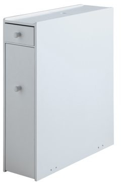 Proman Products ZLMN46001 Bathroom Floor Cabinet in White