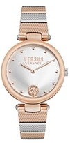 Thumbnail for your product : Versus By Versace Versus Women's Los Feliz Rose Gold-Tone/Silver-Tone Stainless Steel Bracelet Watch 34mm