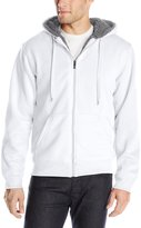 Southpole Men's Active Basic Hooded Full Zip Sherpa Fleece