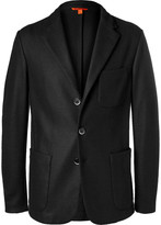 Barena - Black Slim-fit Stretch Virgin Wool Blazer