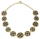 House Of Harlow Phoebe Caged Leather Necklace