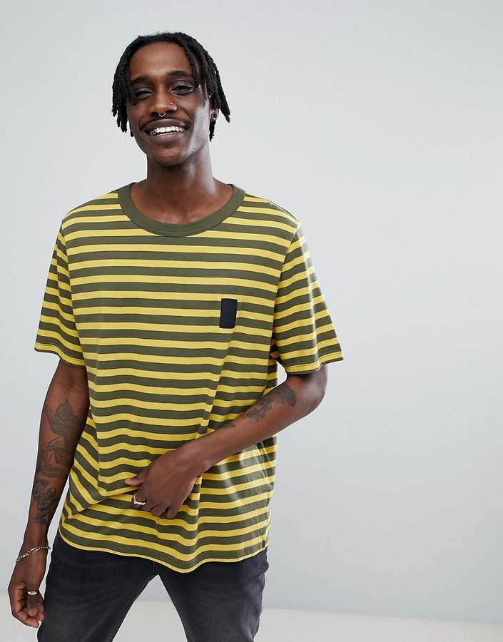 Cheap Monday T-Shirt in Classic Stripe