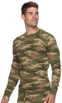 Croft & Barrow Men's Classic-Fit Camo Thermal Crewneck Tee