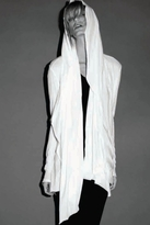 LnA Cloak Cardigan in White
