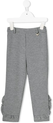 Lapin House Frill-Trim Trousers