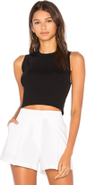Theory Milotaly Tank in Black. - size L (also in M)