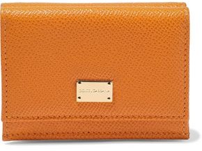 Dolce & Gabbana Textured-leather Wallet