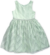 Sweet Heart Rose Mint Special Occassion Dress, Toddler and Little Girls (2T-6X)