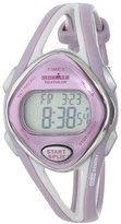"Timex Women's T5K027 ""Ironman Sleek"" Sport Watch with Two-Tone Band"