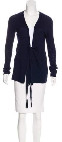 Proenza Schouler Wool Rib Knit Cardigan