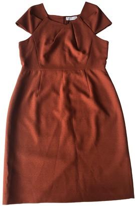 The Fold Orange Dress for Women