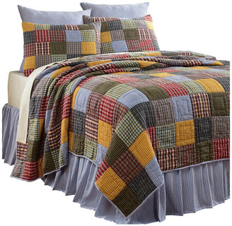 Amity Home Farm Patchwork Quilt Set, Multicolored, Twin
