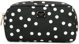 Dolce & Gabbana polka dot makeup bag - women - Nylon - One Size