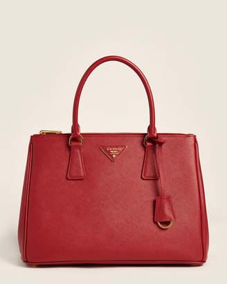 Prada Fiery Red Galleria Medium Saffiano Tote