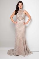 Terani Couture Beaded Long Mermaid Gown 1713E3315