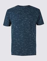 Limited Edition Cotton Rich Slim Fit Crew Neck T-Shirt