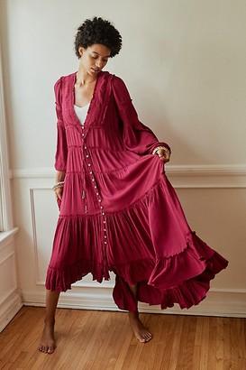 The Endless Summer Cassis Midi Dress