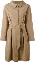 Fabiana Filippi classic trench coat - women - Cotton/Acetate/Polybutylene Terephthalate (PBT) - 48