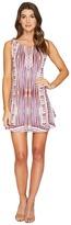 Hale Bob Pretty Brilliant Microfiber Jersey Tie Dress Women's Dress