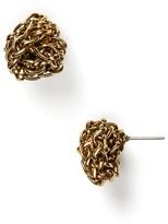 Lauren Ralph Lauren Braided Knot Stud Earrings