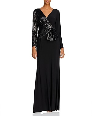 Adrianna Papell Sequin Jersey Gown