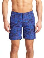 "Onia Calder 7.5"" Abstract-Patterned Swim Trunks"