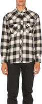 Herman Western Snap Shadow Plaid Button Down