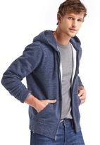 Gap Brushed fleece zip hoodie