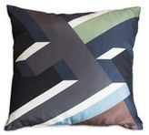 Fendi Casa Abstract Logo Silk Pillow