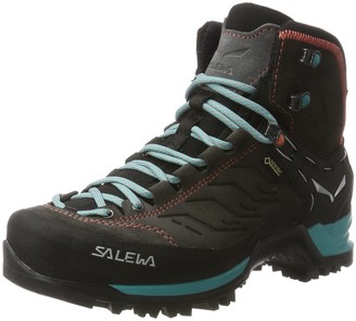 Salewa WS Mountain Trainer Mid Gore-TEX Trekking & hiking boots Women's Grey (Magnet/Viridian Green) 4 UK