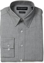 Nick Graham Men's Solid Cotton Dress Shirt