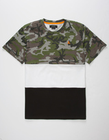 Asphalt Yacht Club Camo Triblock Boys T-Shirt