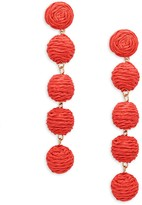 Ava & Aiden Ball Linear Drop Earrings