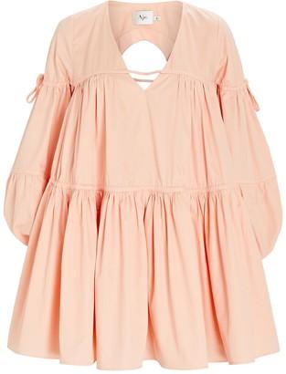 Aje Overture Tiered Mini Dress
