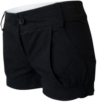 Patrizia Pepe Black Cotton - elasthane Shorts for Women